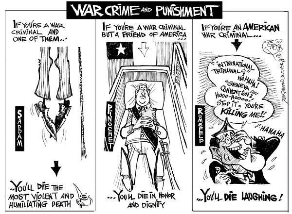 Criminales de guerra