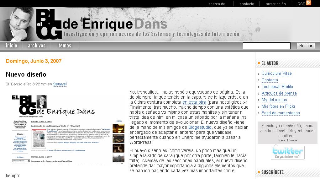 El nuevo y renovado enriquedans.com!