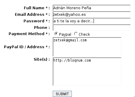 Password al descubierto