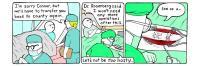 Pasándose al paciente