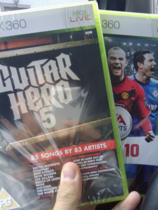 Un par de juegos que me agencié en Amazon.uk...