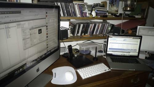 Mi escritorio...