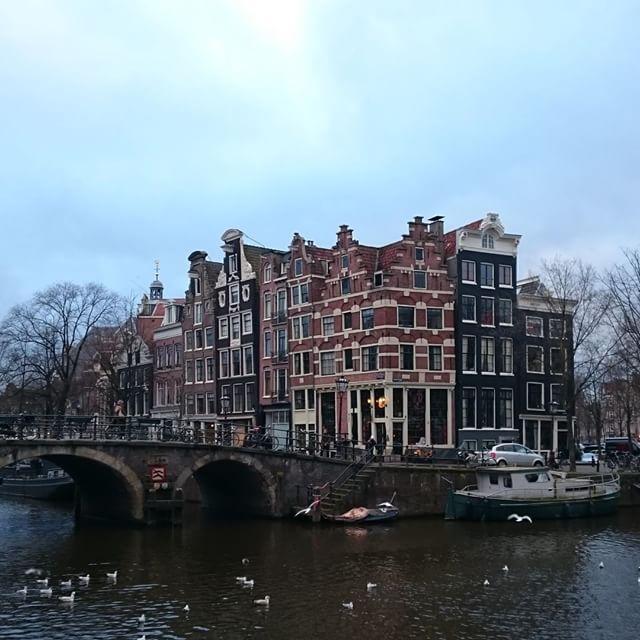 """Browersgracht (""""El canal de los cerveceros"""") #amsterdam #nofilters"""